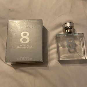 Abercrombie & Fitch 8 new 1 in box, 1 opened